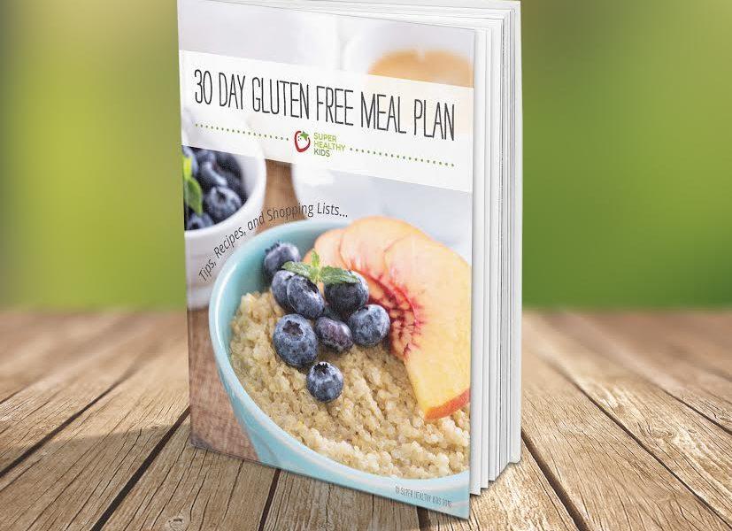 Gluten Free eBook Meal Plan