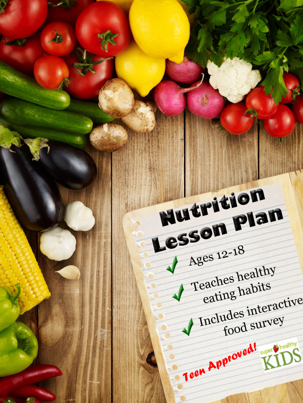 nutrition lesson plan middle school