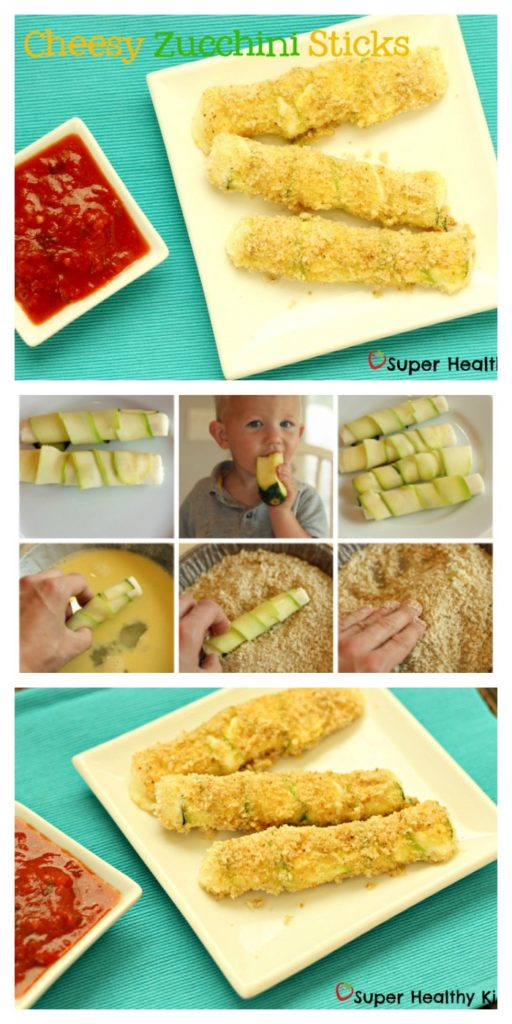 Cheesy Zucchini Sticks Recipe