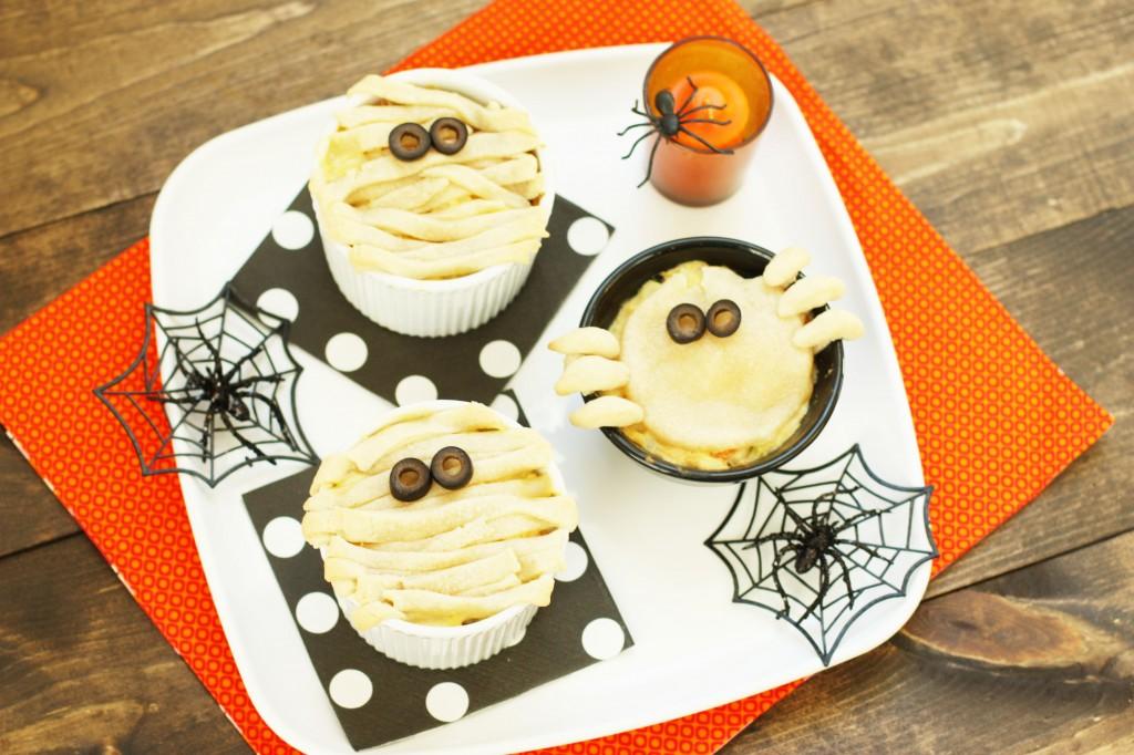 Halloween Pot Pie. Not your mummy's chicken pot pie