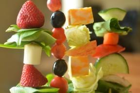 Salad Skewers for Kids