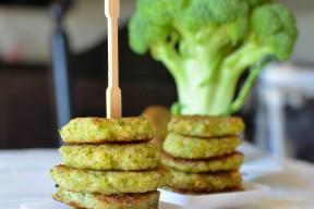 broccoli bites with broccoli and shk