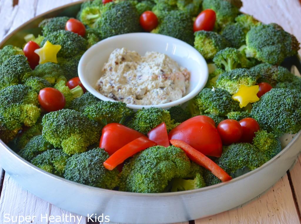 broccoli wreath super healthy kids