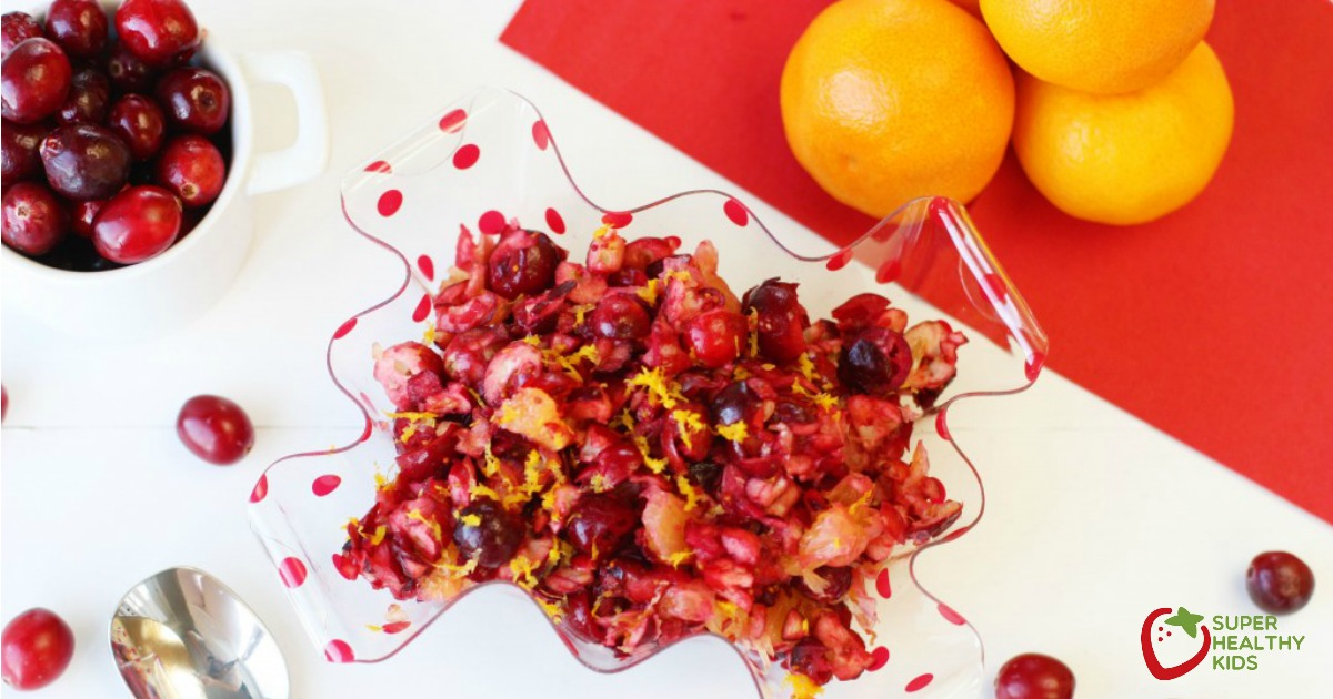 Fresh Cranberry Orange Relish