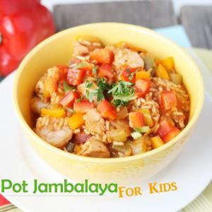 One-Pot Jambalaya for Kids