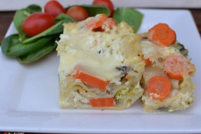 white veggie lasagna from super healthy kids
