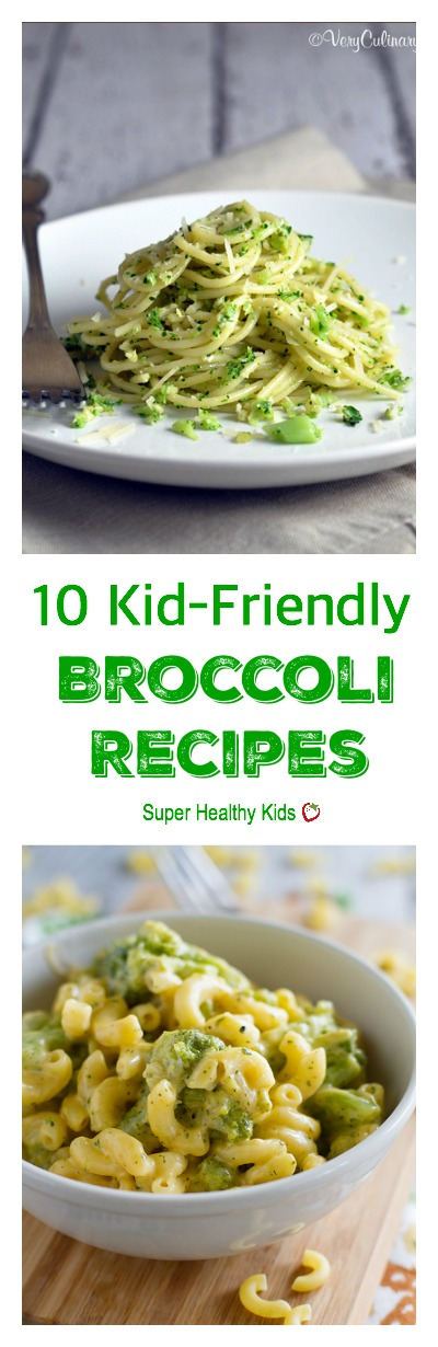 10 Kid-Friendly Broccoli Recipes. Broccoli can taste so different when prepared different ways. Try these and see how your kids like it the best!
