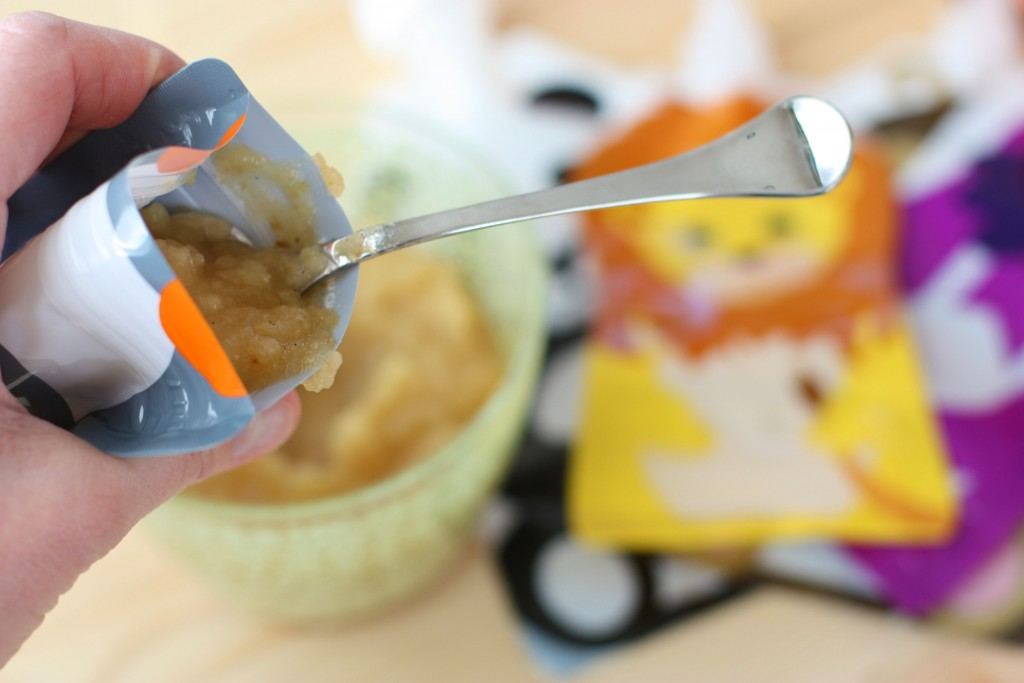 Slow Cooker Budget Friendly Applesauce Pouches. Homemade, budget-friendly applesauce that is better than the store-bought stuff!