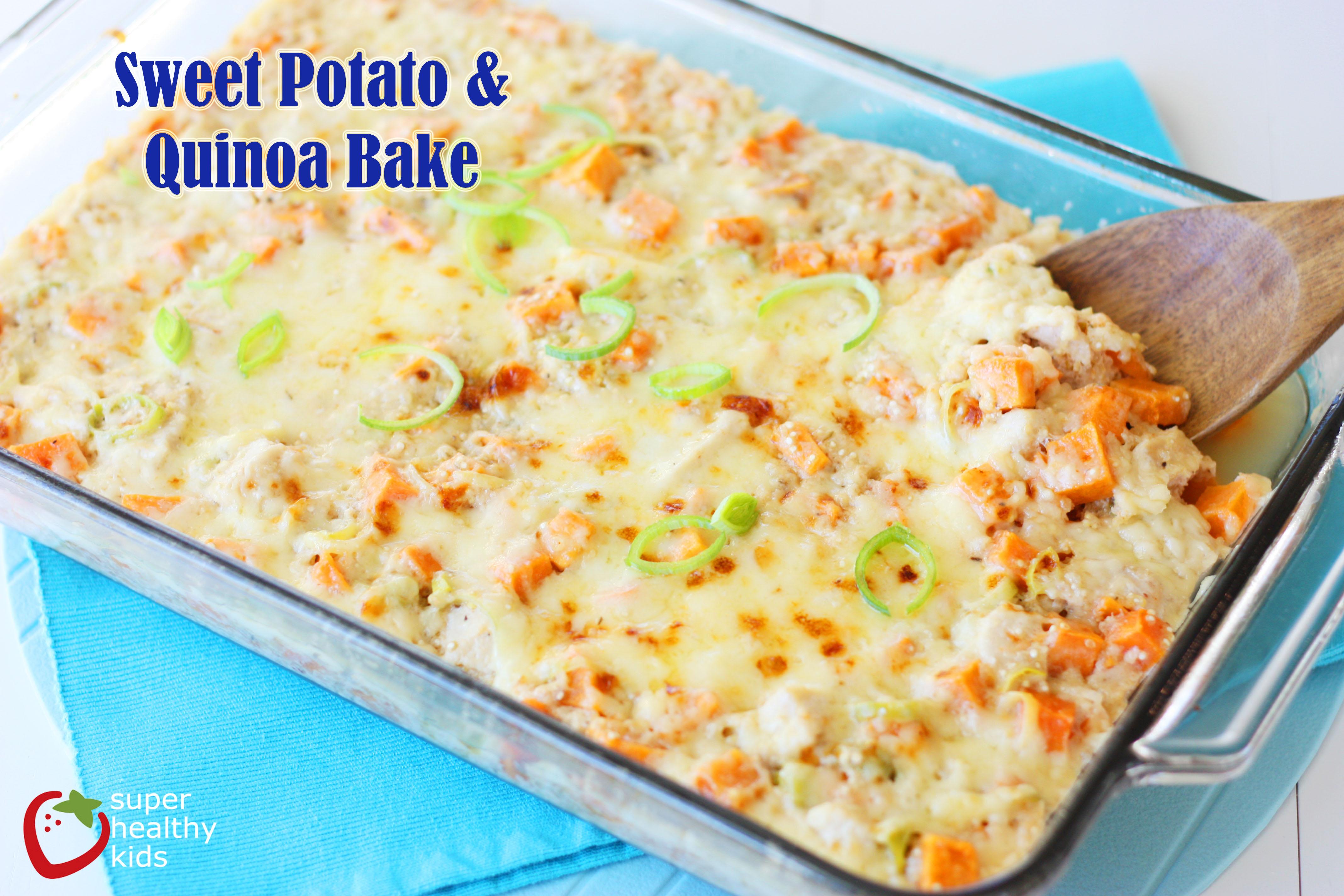 Sweet potato pasta bake recipe
