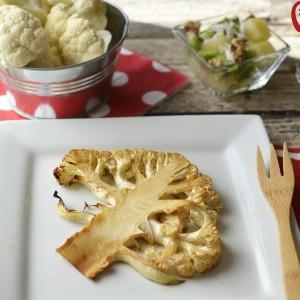 Cauliflower Recipe: Marinated Cauliflower Steak
