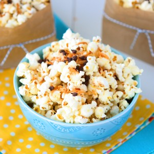 Almond Joy Popcorn (Plus the Best Popcorn Popper)