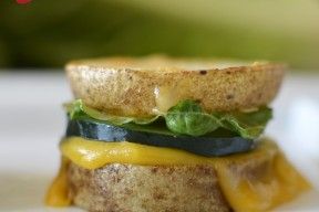 single potato sandwich from shk