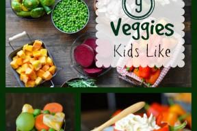 9 veggies kids like facebook
