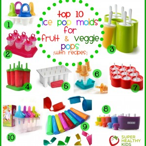 Top 10 Ice Pop Molds for Fruit and Veggie Pops