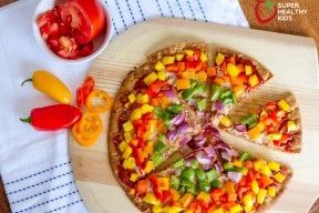 rainbow pizza 1