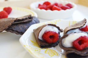 Mini Cocoa Crepes