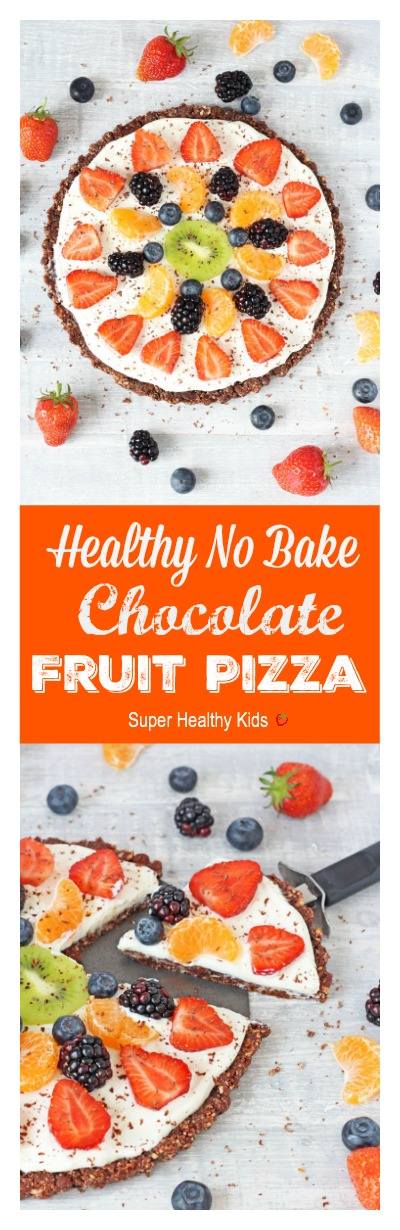 healthy fruit pizza recipe cools fruit