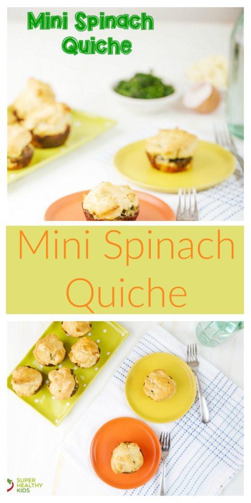 Mini Spinach Quiche