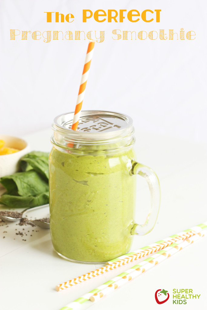 Perfect Pregnancy Smoothie. The nutritious balance of so many nutrients you and your baby need.