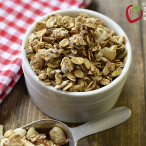Healthy Sugar Free Granola Recipe