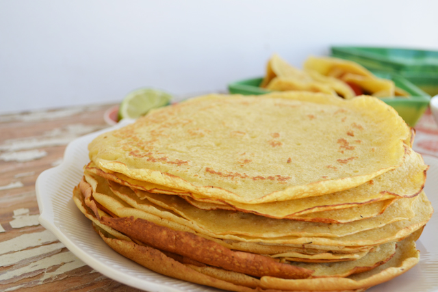 Delicious flavor of a tortilla - with the softness of a crepe