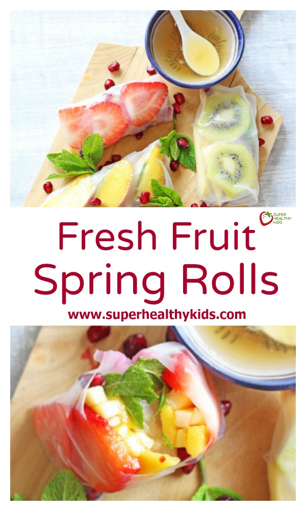 spring fruits healthy chocolate fruit dip