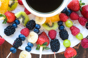quick and healthy fruit fondue