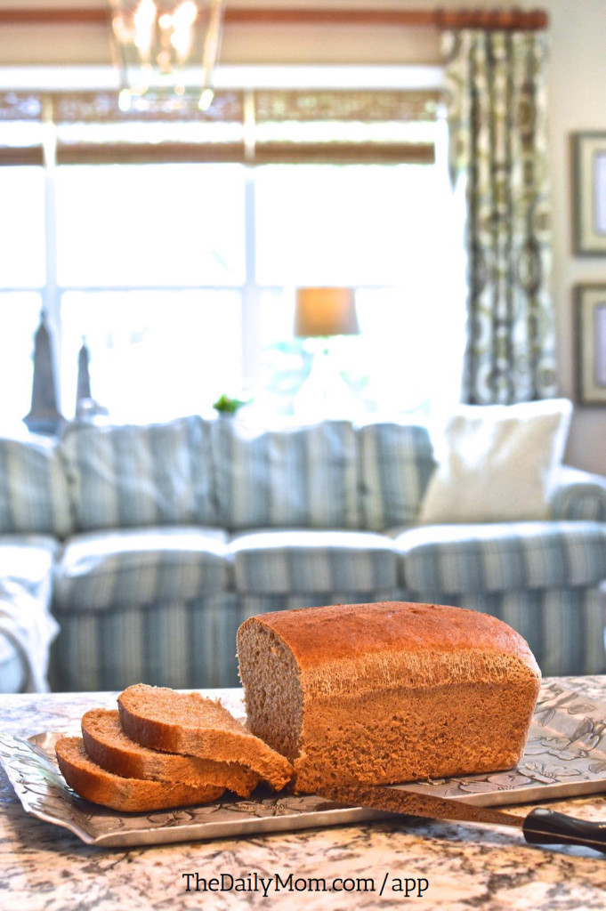 Organic Honey Whole Wheat Bread. This simple recipe contains just 6 ingredients and requires a mere 10 minutes of hands-on time.