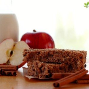 Apple Cinnamon Breakfast Bar Recipe