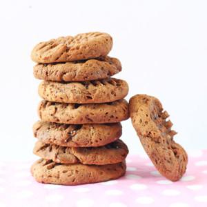 4 Ingredient Chocolate Chia Cookies Recipe