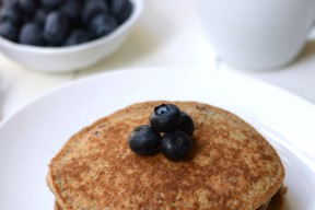 These quick, easy, and delicious Brain Booster Pancakes are high in protein, fiber, and omega 3s - the perfect start to your child's day!