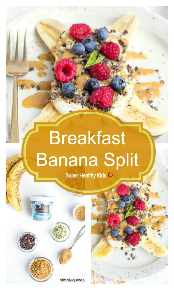 FOOD - Breakfast Banana Split. A healthy and delicious spin on a ...