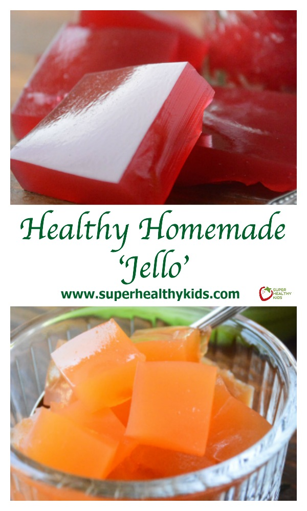 All Natural Homemade Fruit Juice 'Jello'. No more from the box jello with added sugars and artificial ingredients!