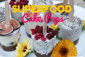 Super Food Cake Pops