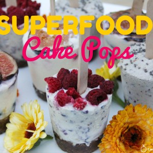 Super Food Cake Pops Recipe