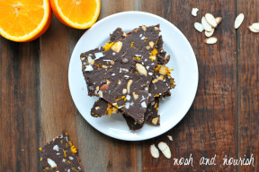 chocolate avocado bark