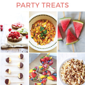Healthy Summer Party Treats
