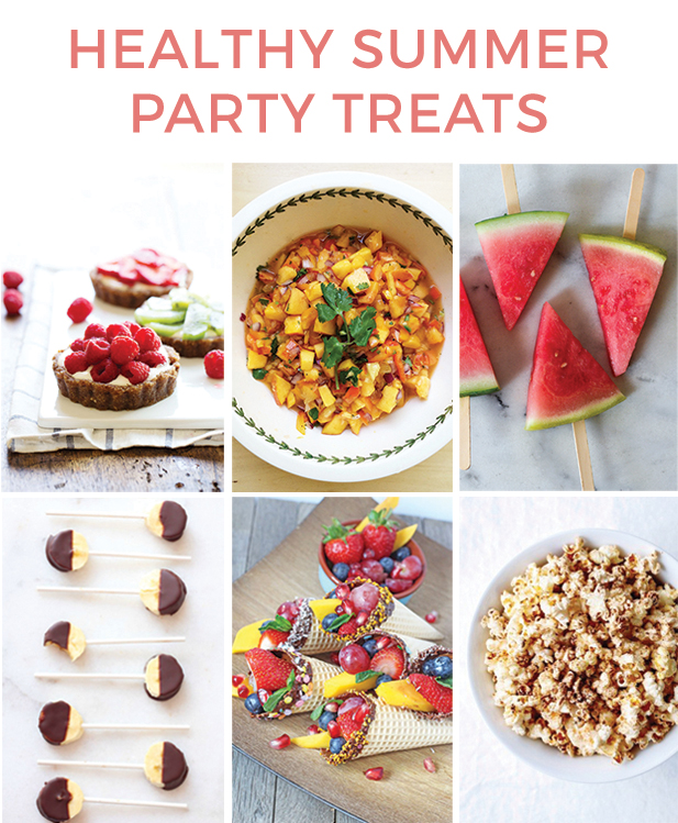 Healthy summer party treats healthy ideas for kids for Summer party menu ideas