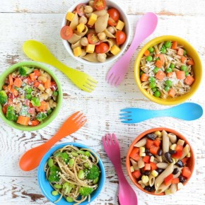 5 Healthy Pasta Salads for Kids