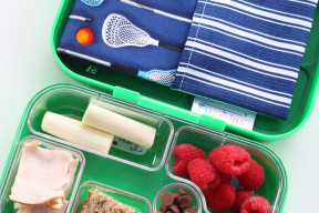 Boy Napkin Lunch Box