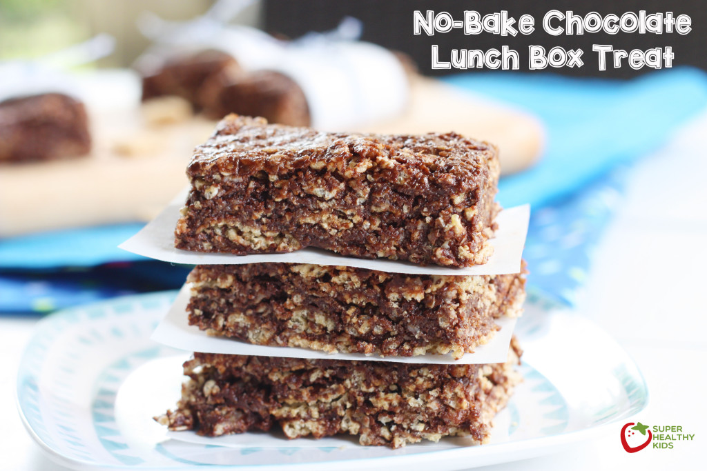 No-Bake Chocolate Lunch Box Treat. Perfect treat to send to school ...