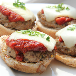 Pizza Burger Sliders Recipe