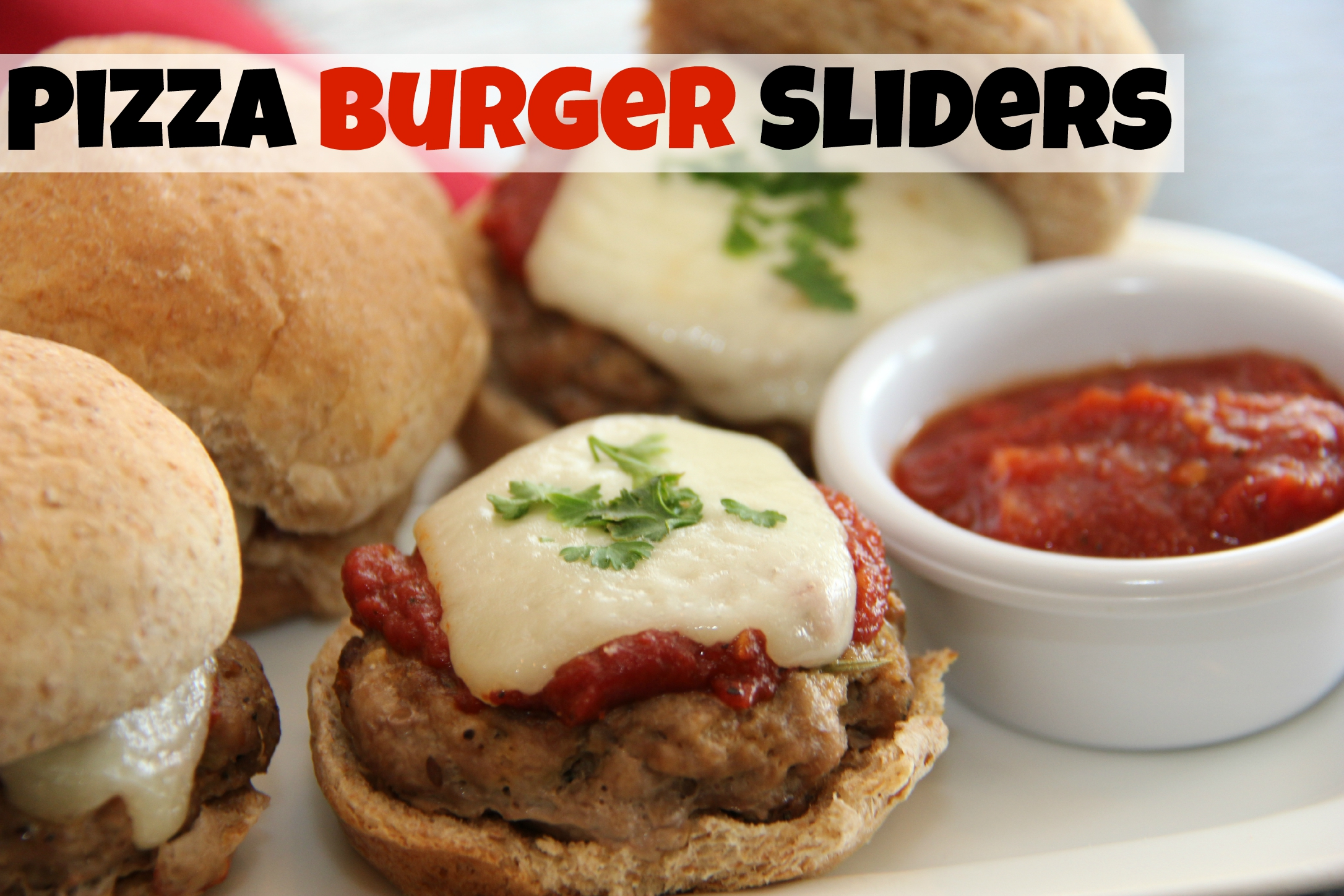 Pizza Burger Sliders Recipe Healthy Ideas For Kids
