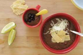 30-Minute Black Bean Soup