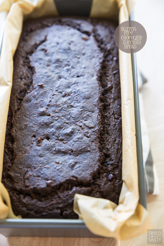 Chocolate Zucchini Bread. Do you love rich chocolaty bakery style sweet bread but don't love the long list of unrecognizable ingredients? This Gluten-Free Chocolate Zucchini Bread is perfect for you! Made without any refined flour or sugar, they are a guilt free breakfast, snack, or even dessert option!