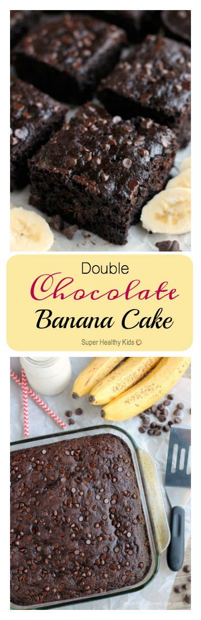 Banana chocolate cake healthy
