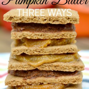Honey Sweetened Pumpkin Butter Three Ways