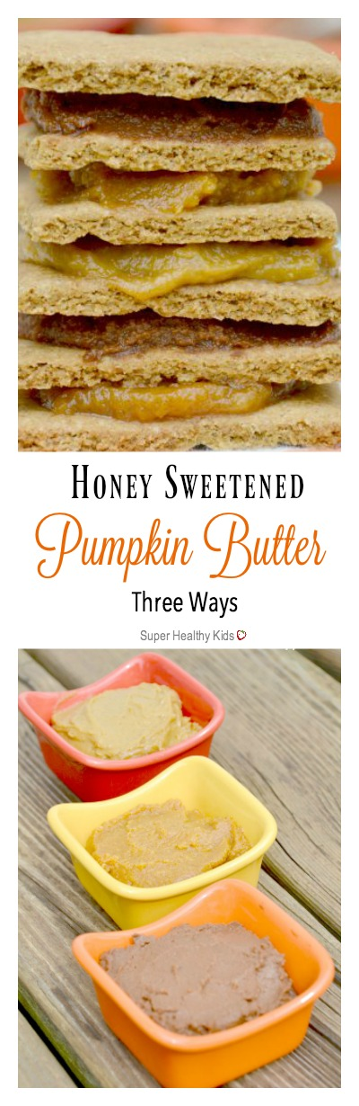 Honey Sweetened Pumpkin Butter. Perfect sweet spread that is good for you!