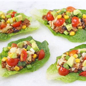 Slow Cooker Quinoa Lettuce Cups Recipe