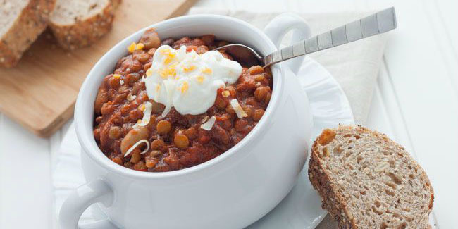 Slow-Cooker Vegetarian Chili Recipe | Healthy Ideas for Kids
